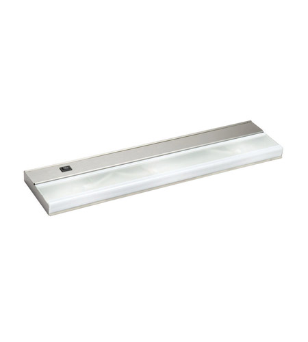 Kichler Lighting Direct-Wire 3Lt Xenon 12v/18w Cabinet Strip/Bar Light in Stainless Steel 10581SS