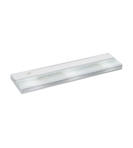 Kichler Lighting Direct Wire 3lt Xenon 12v 18w Cabinet Strip Bar Light In White 10581wh
