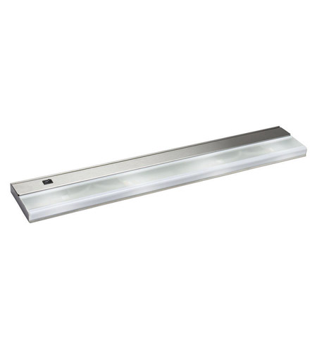 Kichler Lighting Direct-Wire 4Lt Xenon 12v/18w Cabinet Strip/Bar Light in Stainless Steel 10584SS