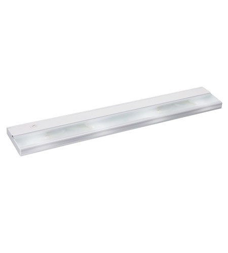 Kichler Lighting Direct-Wire 4Lt Xenon 12v/18w Cabinet Strip/Bar Light in White 10584WH