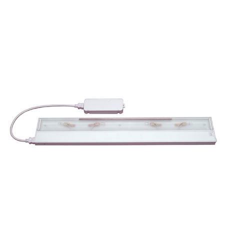 Kichler Lighting Modular 4Lt Xenon All in one Cabinet Strip/Bar Light in White 10585WH
