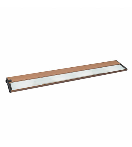 Kichler Lighting Modular 4Lt Xenon 12v/18w Cabinet Strip/Bar Light in Brushed Bronze 10587BRZ