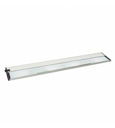 Kichler Lighting Modular 4Lt Xenon 12v/18w Cabinet Strip/Bar Light in Brushed Nickel 10587NI