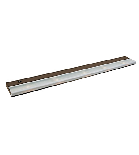 Kichler Lighting Direct-Wire 5Lt Xenon 12v/18w Cabinet Strip/Bar Light in Bronze 10595BZ