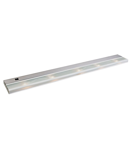 Kichler Lighting Direct-Wire 5Lt Xenon 12v/18w Cabinet Strip/Bar Light in Stainless Steel 10595SS
