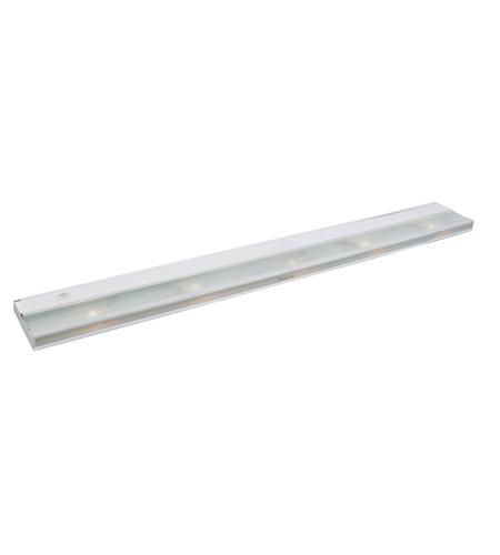 Kichler Lighting Direct-Wire 5Lt Xenon 12v/18w Cabinet Strip/Bar Light in White 10595WH