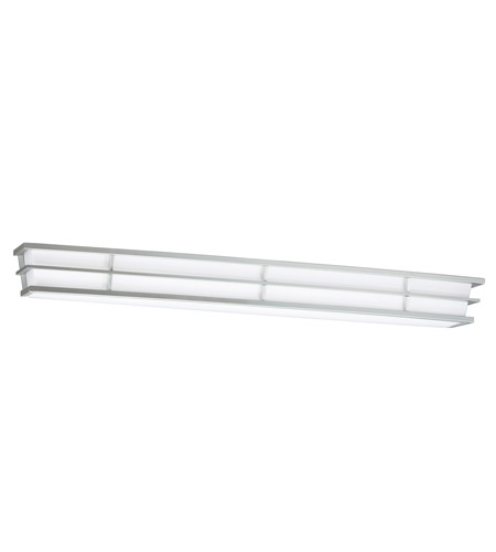 Kichler 10602SI Pavilion 2 Light 40 inch Silver Various Fluorescent Bath Vanity Wall Light photo