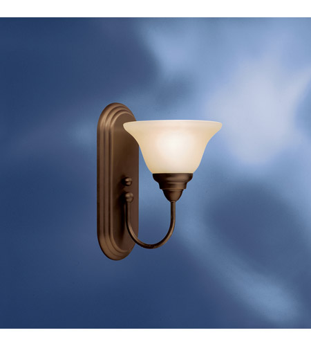 Kichler Lighting Telford 1 Light Fluorescent Sconce in Olde Bronze 10604OZ photo
