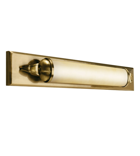 Kichler Lighting Pierson 1 Light Fluorescent Bath Vanity in Antique Brass 10615AB photo