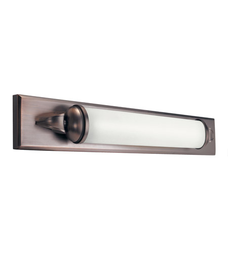 Kichler Lighting Pierson 1 Light Fluorescent Bath Vanity in Royal Bronze 10615RBZ