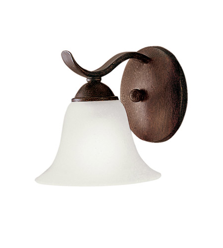 Kichler Lighting Dover 1 Light Fluorescent Sconce in Tannery Bronze 10618TZ photo