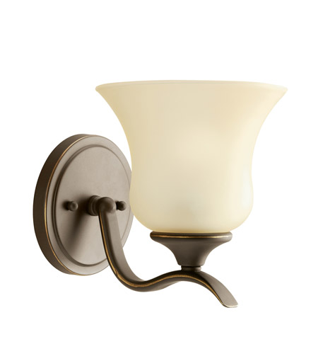 Kichler Lighting Wedgeport 1 Light Fluorescent Sconce in Olde Bronze 10636OZ
