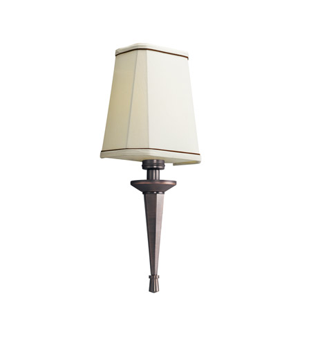 Kichler Lighting Paramount 1 Light Fluorescent Sconce in Royal Bronze 10656RBZ