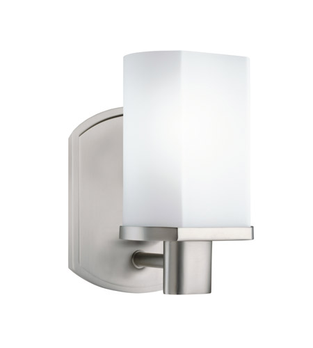 Kichler Lighting Lege 1 Light Fluorescent Sconce in Brushed Nickel 10665NI