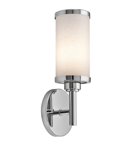 Kichler Lighting Signature 1 Light Fluorescent Sconce in Chrome 10680CH photo