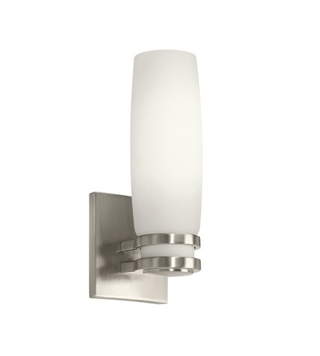 Kichler Lighting Verve 1 Light Fluorescent Sconce in Brushed Nickel 10685NI