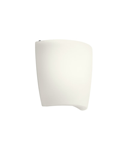 Kichler 10689WH Signature 1 Light 10 inch White Fluorescent Sconce Wall Light photo