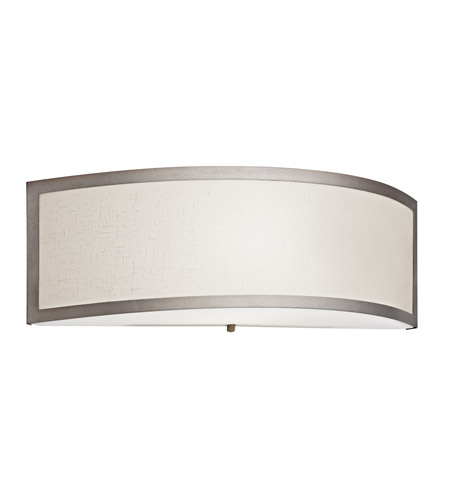 Kichler Lighting Signature 1 Light Fluorescent Sconce in Champagne 10690CP
