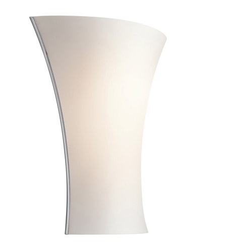Kichler Lighting Signature 1 Light Fluorescent Sconce in Chrome 10695CH