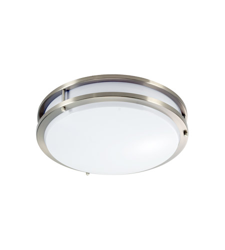 Kichler Signature LED Flush Mount in Silver Various 10759SI photo