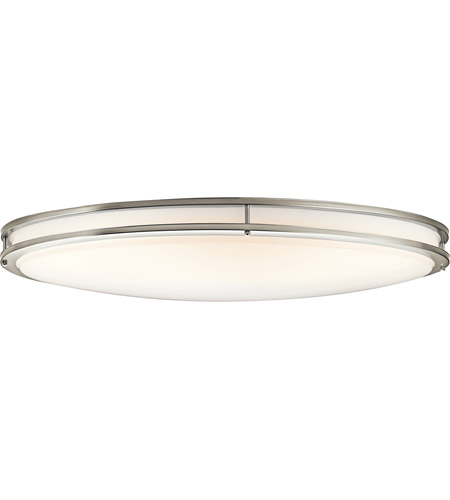 Kichler 10789niled Avon Led 18 Inch Brushed Nickel Flush Mount Ceiling Light