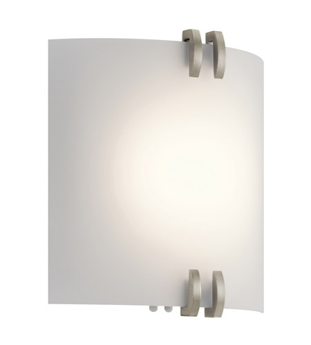 Kichler 10795NILED Independence LED 11 inch Brushed Nickel Wall Sconce Wall Light photo