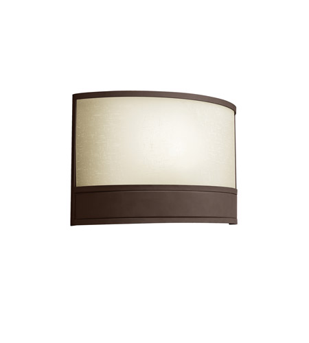 Kichler Lighting Vien 1 Light Fluorescent Sconce in Olde Bronze 10818OZ