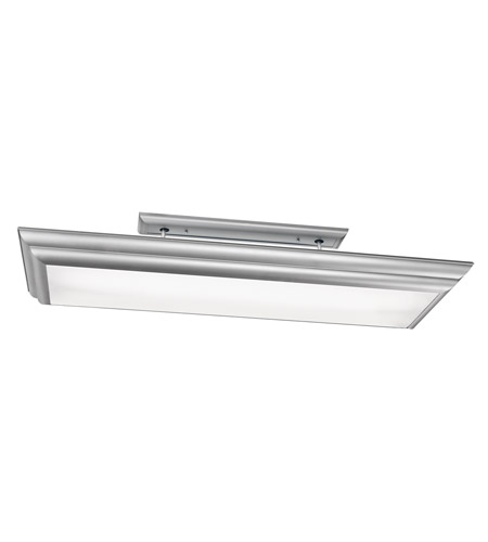 Kichler 10847SI Chella 4 Light 20 inch Silver Various Fluorescent Flush Mount Ceiling Light photo