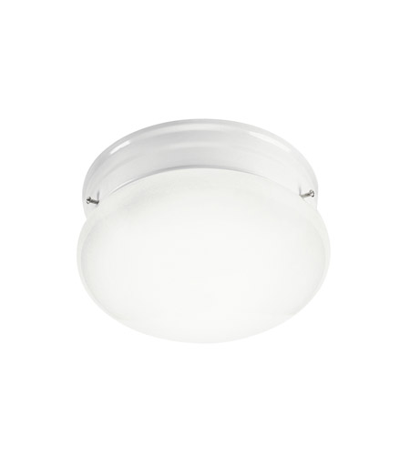 Kichler Lighting Signature 2 Light Fluorescent Flush Mount in White 10860WH