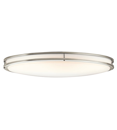 Kichler 10879ni verve 2 light 18 inch brushed nickel fluorescent kichler 10879ni verve 2 light 18 inch brushed nickel fluorescent flush mount ceiling light mozeypictures Choice Image