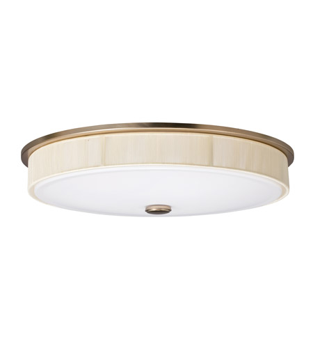 Kichler Lighting Santiago 2 Light Fluorescent Flush Mount in Champagne 10885CP photo