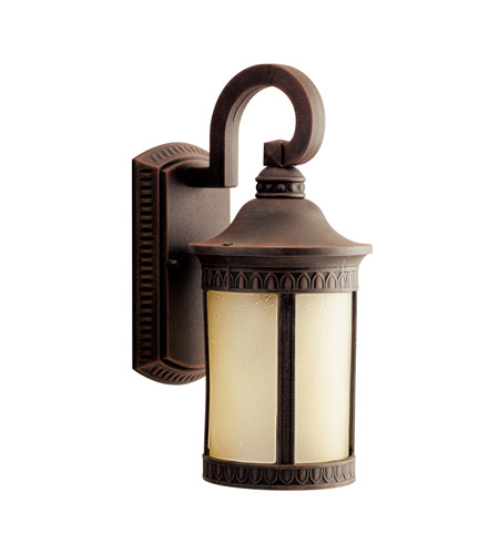 Kichler Lighting Randolph 1 Light Fluorescent Outdoor Wall Lantern in Prairie Rock 10903PR photo