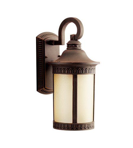 Kichler Lighting Randolph 1 Light Fluorescent Outdoor Wall Lantern in Prairie Rock 10904PR
