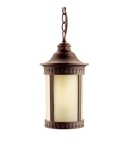 Kichler Lighting Randolph 1 Light Fluorescent Outdoor Ceiling in Prairie Rock 10905PR photo