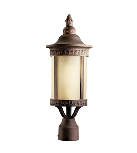 Kichler 10906PR Randolph 1 Light 20 inch Prairie Rock Fluorescent Outdoor Post photo