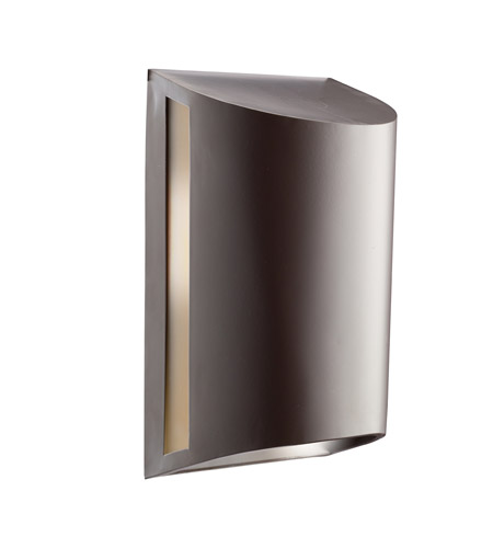 Kichler Lighting Signature 1 Light Fluorescent Outdoor Wall Lantern in Architectural Bronze 10922AZ