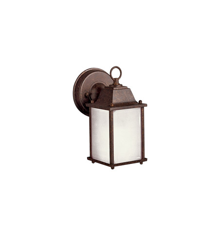 Kichler Lighting Signature 1 Light Fluorescent Outdoor Wall Lantern in Tannery Bronze 10923TZ