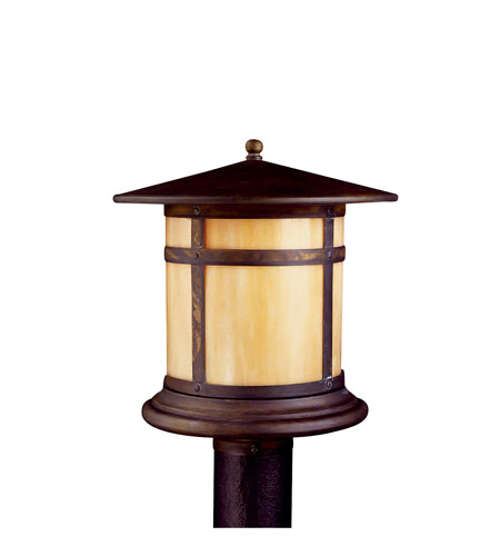 Kichler Lighting Tularosa 1 Light Fluorescent Outdoor Post in Canyon View 10944CV