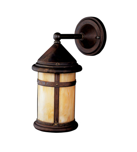 Kichler Lighting Tularosa 1 Light Fluorescent Outdoor Wall Lantern in Canyon View 10946CV