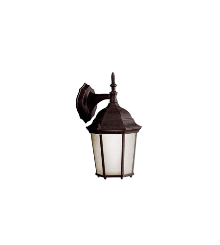Kichler 10950TZ Madison 1 Light 15 inch Tannery Bronze Fluorescent Outdoor Wall Lantern photo