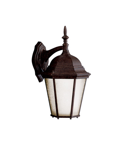 Kichler Lighting Madison 1 Light Fluorescent Outdoor Wall Lantern in Tannery Bronze 10954TZ