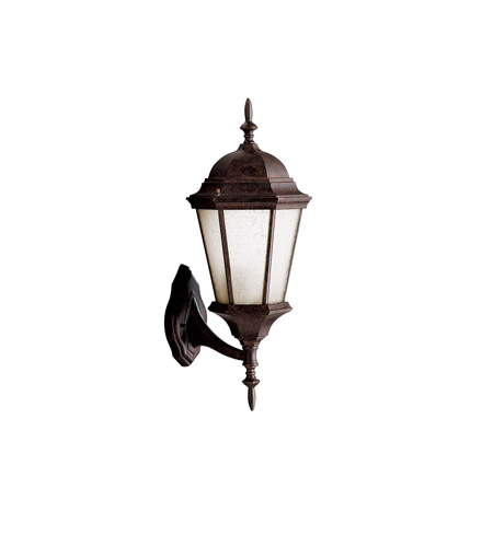 Kichler Lighting Madison 1 Light Fluorescent Outdoor Wall Lantern in Tannery Bronze 10955TZ