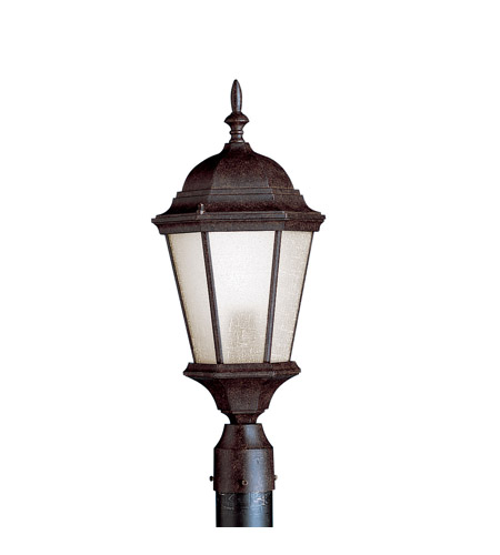 Kichler 10956TZ Madison 1 Light 23 inch Tannery Bronze Fluorescent Outdoor Post photo