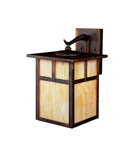 Kichler Lighting Alameda 1 Light Fluorescent Outdoor Wall Lantern in Canyon View 10960CV photo