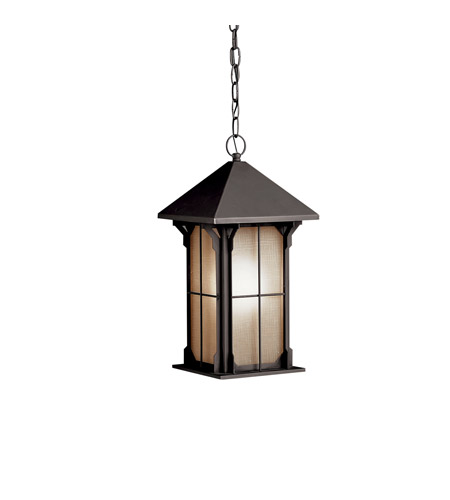 Kichler Lighting Astoria 1 Light Fluorescent Outdoor Ceiling in Olde Bronze 10965OZ