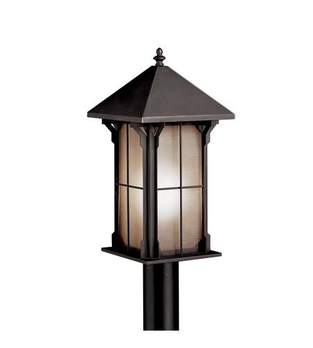 Kichler Lighting Astoria 1 Light Fluorescent Outdoor Post in Olde Bronze 10967OZ photo