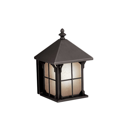 Kichler Lighting Astoria 1 Light Fluorescent Outdoor Wall Lantern in Olde Bronze 10968OZ photo