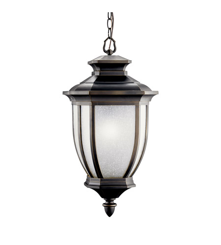 Kichler Lighting Salisbury 1 Light Fluorescent Outdoor Ceiling in Rubbed Bronze 11006RZ photo