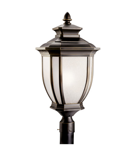 Kichler Lighting Salisbury 1 Light Fluorescent Outdoor Post in Rubbed Bronze 11009RZ