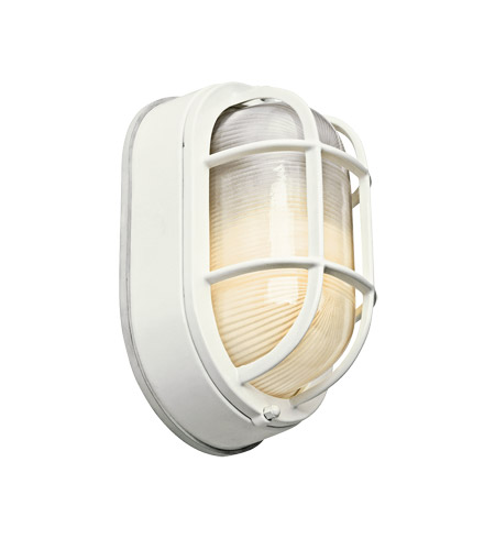 Kichler Lighting Signature 1 Light Fluorescent Outdoor Wall Lantern in White 11029WH photo